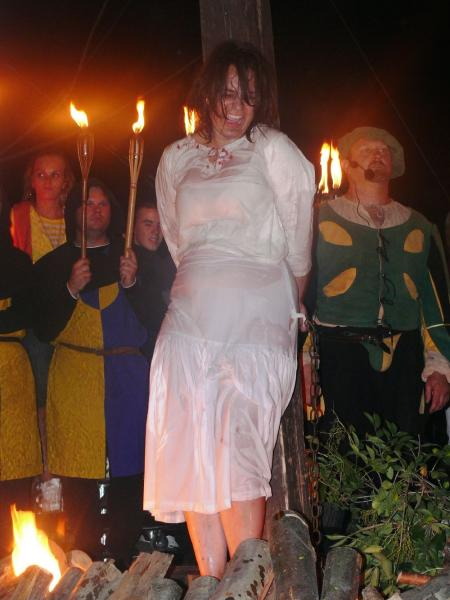 Brutal Performance Torture Law And Witch Burning